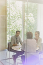 Business people talking in conference room meeting - CAIF06202