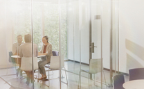 Business people meeting in conference room - CAIF06232