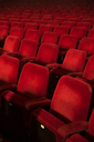 Empty seats in theater auditorium - CAIF08223