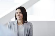 Portrait smiling businesswoman - CAIF10659