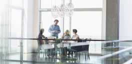 Business people in conference room meeting - CAIF13400