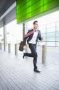 Businessman running - CAIF14219