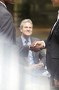 Business people handshaking - CAIF14237