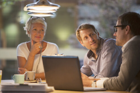 Business people talking in office meeting - CAIF14882