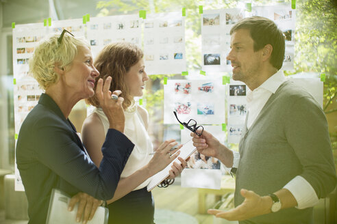 Business people talking in office - CAIF14909