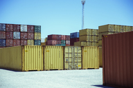 Stacks of cargo containers - CAIF15113
