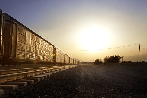 Freight train on track - CAVF06300
