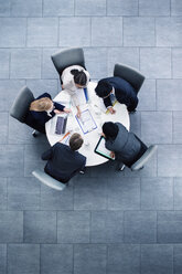 Business people having meeting at table - CAIF15747