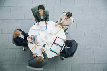 Business people having meeting at table - CAIF15792