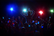 Audience enjoying concert - CAIF16774