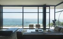 Modern house overlooking ocean - CAIF17939