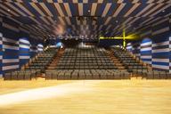 Seats in empty auditorium - CAIF18308