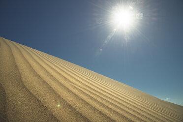Spain, Canary Islands, Gran Canaria, sand dune in Maspalomas - STCF00422