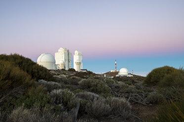 Spain, Canary Islands, Tenerife, Teide observatory - STCF00455