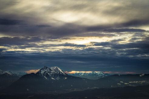 Austria, Salzburg, Hochstaufen as seen from Gaisberg - STCF00464
