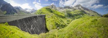 Austria, Kaprun, Mooserboden dam wall - STCF00485