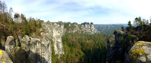Germany, Saxony, Saxon Switzerland, Bastei region - JTF00950