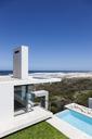 Modern house overlooking ocean - CAIF18783