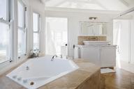 Jacuzzi tub in luxury bathroom - CAIF18855
