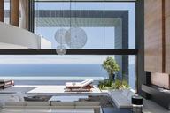 Modern house overlooking ocean - CAIF19011