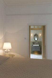 Doorway in modern bedroom - CAIF19239