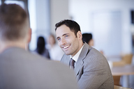 Business people talking in office - CAIF19468
