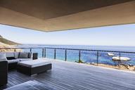 Luxury balcony overlooking ocean - CAIF19860