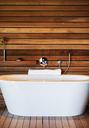 Bathtub in modern bathroom - CAIF19866