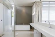 Sink and bathtub in modern bathroom - CAIF19926