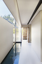Pool and corridor of modern house - CAIF19944