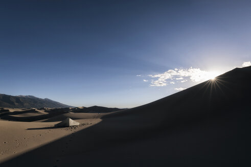 Sand dunes against sky - CAVF15138