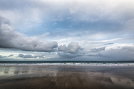 Scenic view of sea against cloudy sky - CAVF15159
