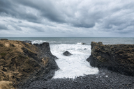 Scenic view of seascape against cloudy sky - CAVF15171