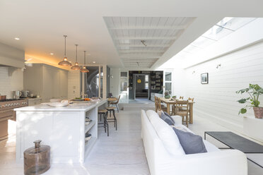 Luxury home showcase kitchen and living room - CAIF20210