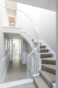 Luxury home showcase foyer with winding staircase - CAIF20216