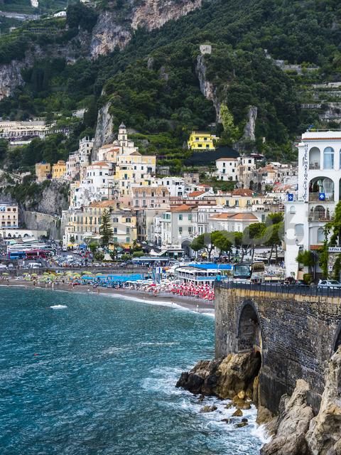 Italy, Campania, Amalfi Coast, Sorrento Peninsula, Amalfi - AMF05680