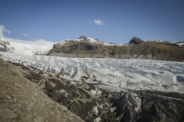 Iceland, Skaftafell National Park, Hafrafell glacier tongue - STCF00524
