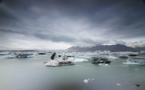 Iceland, South of Iceland, Joekulsarlon glacier lake, icebergs - STCF00527