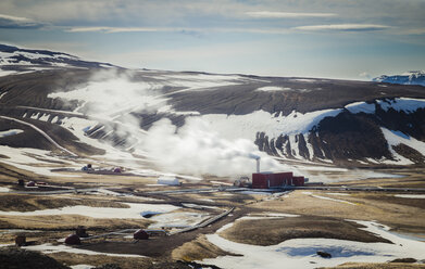 Iceland, Myvatn, Bjarnarflag Power Station, Geothermal Power Station - STCF00536