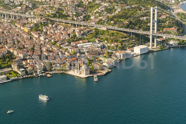 Turkey, Bosporus bridge and the european Istanbul - TAMF00980