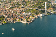 Turkey, Bosporus bridge and the european Istanbul - TAMF00980