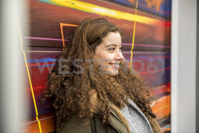 Portrait of happy eenage girl - FMKF05002