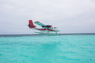 Maldives, seaplane on the ocean - ZEF15258