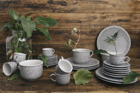 Coffee set in granite look - SKCF00352