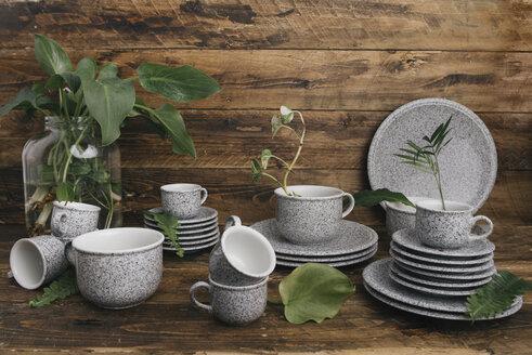 Coffee set in granite look - SKCF00352
