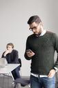 Two men in office - FOLF00254