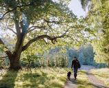 Man walking with dog - FOLF01694