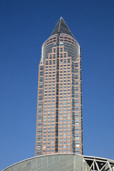 Germany, Hesse, Frankfurt, Trade Fair Tower - WIF03484