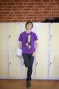 Portrait of teenage boy at school - FOLF02127
