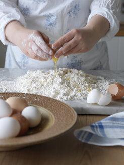 Woman making pasta dough - FOLF02847